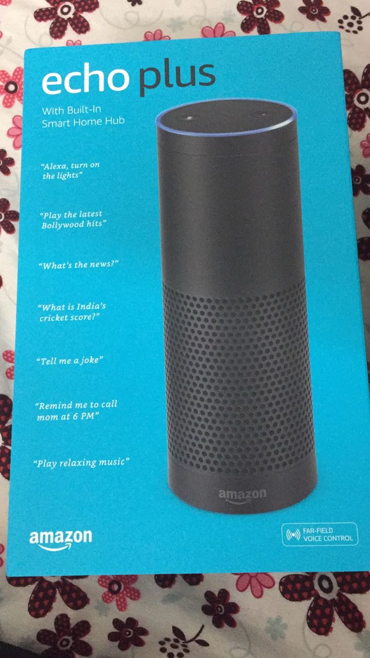 Amazon Echo Package Outer